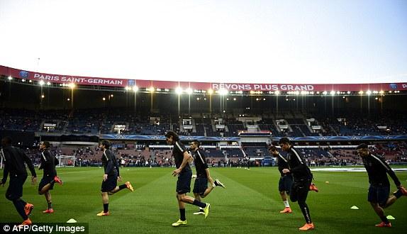 Trận lượt đi vòng tứ kết Champions League 2014/15 giữa Barcelona và PSG được diễn ra tại sân Parc des Princes của đại diện nước Pháp.