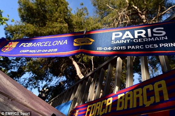 Bỏ túi chiến thắng 3-1 trên sân khách, Barcelona quay trở về Camp Nou để tiếp đón PSG.