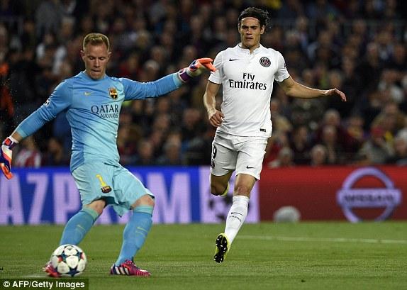 PSG là những người nhập cuộc nhanh hơn trong những phút đầu. Tuy nhiên, Barcelona lại có được sự chắc chắn cần thiết.