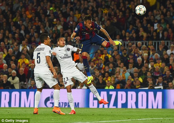 Sau bàn thắng mở tỷ số, Barcelona chơi rất hưng phấn. 20 phút sau, Neymar một lần nữa lập công, giúp Barcelona nới rộng cách biệt với PSG.