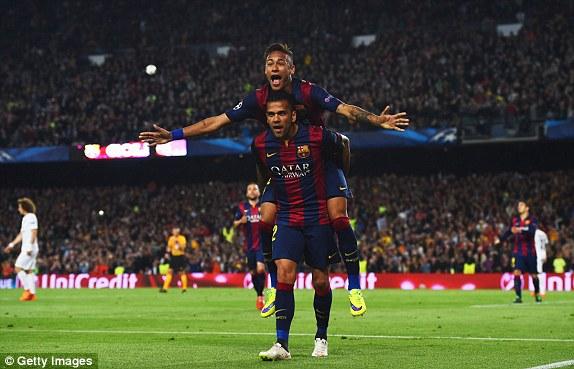 Cú đúp của Neymar giúp cho Barcelona dẫn trước PSG với tổng số 5-1 sau 2 lượt trận. Một thử thách cao như núi dành cho các nhà ĐKVĐ Ligue 1!