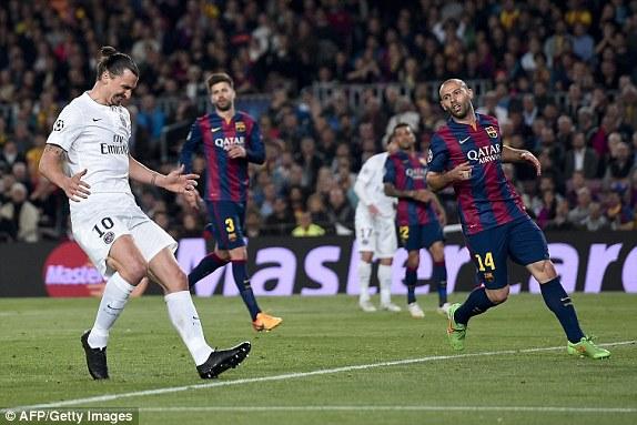 Bất chấp mọi nỗ lực tìm kiếm bàn thắng, PSG cũng không thể khoan thủng mảnh lưới của Barcelona bất cứ lần nào.