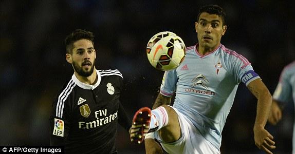 Celta Vigo đã nhập cuộc rất tự tin trước Real Madrid.