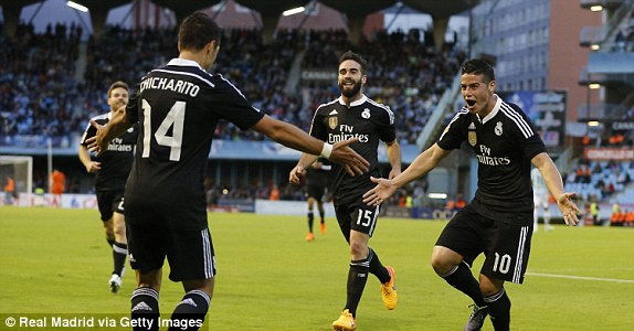 Real Madrid đã có một trận đấu thành công để tiếp tục bám đuổi Barcelona.