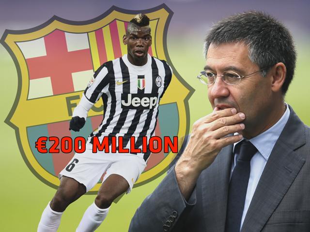 Chủ tịch CLB Barcelona, ông Josep Bartomeu đã chính thức lên tiếng muốn có Paul Pogba