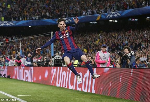 Messi chính là chìa khóa giải quyết mọi vấn đề của Barcelona ở trận này.
