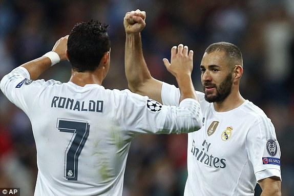Ronaldo và các đồng đội đã có một màn trình diễn thuyết phục tại Bernabeu.