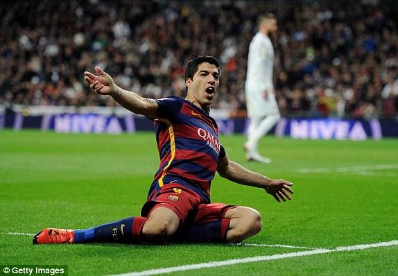 Suarez vẫn chứng tỏ cái duyên ghi bàn của anh vào lưới Real Madrid. Ở trận Siêu kinh điển năm ngoái, cũng chính anh là người ấn định thắng lợi cho Barcelona.