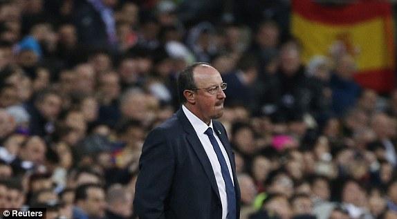 Còn tương lai của Benitez đang bị đặt dấu hỏi lớn sau trận El Clasico đầu tiên trong sự nghệp