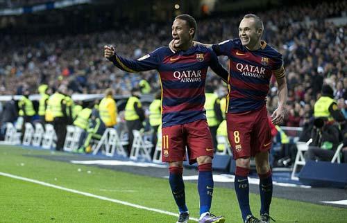 Neymar và Iniesta liệu có thểtung hoành ở Premier League như ở La Liga?