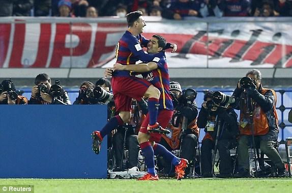 Tung ra bộ 3 tấn công mạnh nhất thế giới, Barcelona không giấu diếm tham vọng giành danh hiệu FIFA Club World Cup 2015.