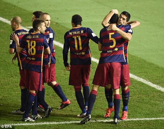 Ai cản nổi Barcelona vào thời điểm hiện tại?