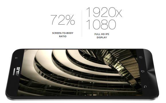 Màn hình ấn tượng của ASUS ZenFone 2