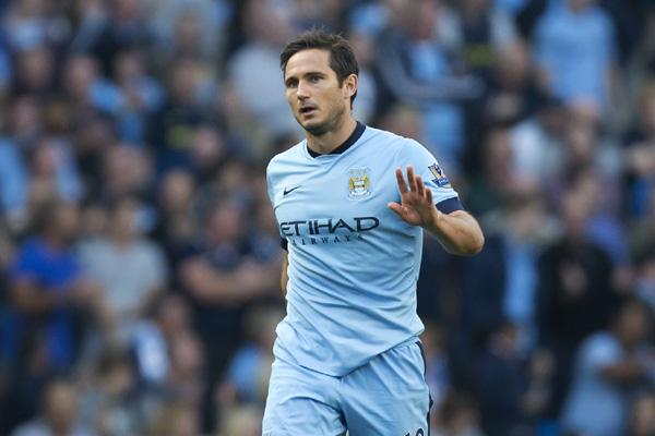Lampard đang thi đấu khá hay trong màu áo Man City