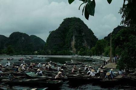 Sông Ngô Đồng. (Ảnh: Phạm Ngọc)