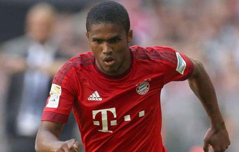 Douglas Costa (Bayern Munich - 34,22km/h)