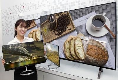 LG sẽ trình làng công nghệ màn hình mới với hàng loại sản phẩm ấn tượng