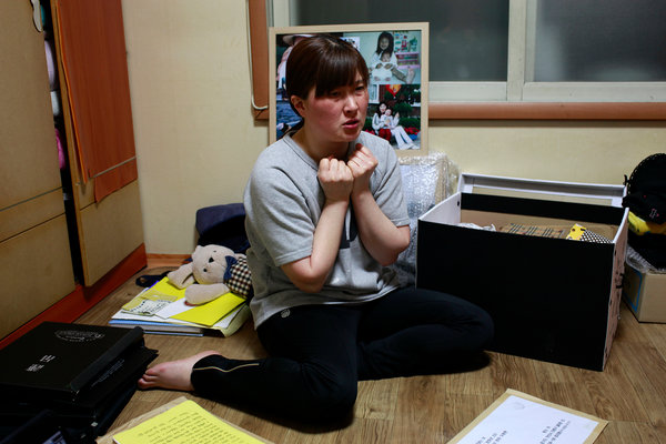 Cô Eom Ji Young thú nhận vẫn phải dùng đến rượu để yên giấc mỗi đêm