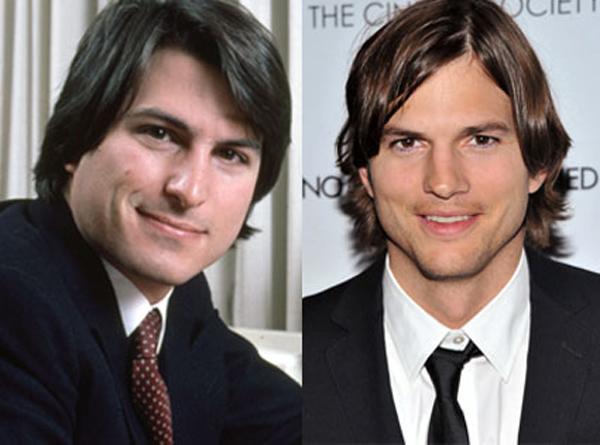 Thoát khỏi dấu ấn ở những vai diễn hài, Ashton Kutcher đã có vai mới Steve Jobs trong bộ phim tiểu sử về người sáng lập Apple (ảnh: Getty)