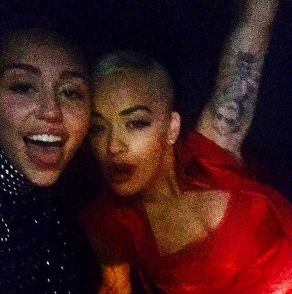 Miley Cyrus and Rita Ora