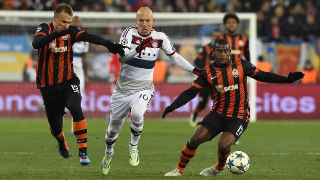 Bayern Munich sẽ trở lại sân nhà để tiếp Shakhtar Donetsk