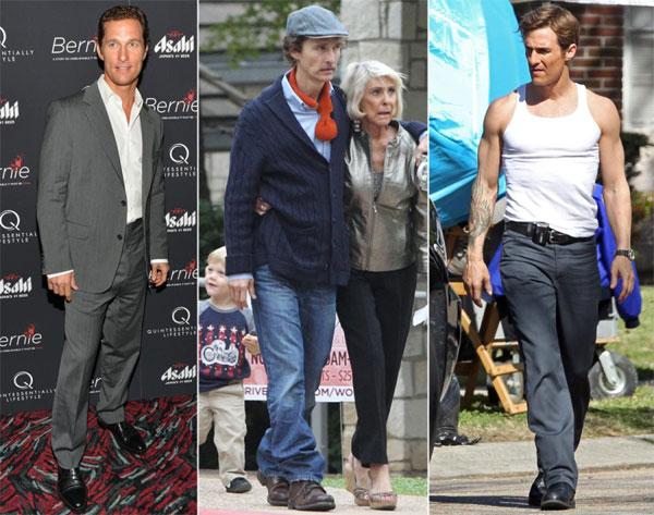 Vai diễn người đàn ông bị bệnh AIDS trong Dallas Buyers Club (2013) đã mang về cho Matthew McConaughey giải Oscar cho Nam diễn viên chính xuất sắc. Đây là phần thưởng xứng đáng cho tài tử 45 tuổi khi anh đã ăn kiêng để giảm 18kg cho vai diễn này.