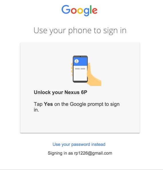 Hướng dẫn đăng nhập tài khoản Google thông qua smartphone