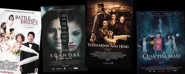 Một số phim do Victor Vũ thực hiện tại Việt Nam
