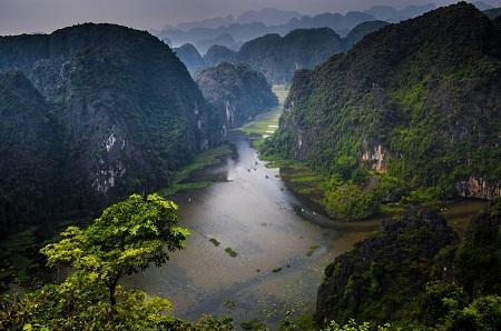 Cảnh đẹp Tràng An trong mắt nhiếp ảnh gia Việt Nam và thế giới