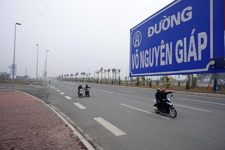 Đi trên con đường đẹp nhất thủ đô mang tên Đại tướng Võ Nguyên Giáp