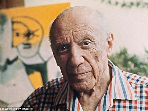 Danh họa Picasso, người để lại cho đời nhiều tác phẩm giá trị nhưng nhiều hồi ức đẹp với con cháu.
