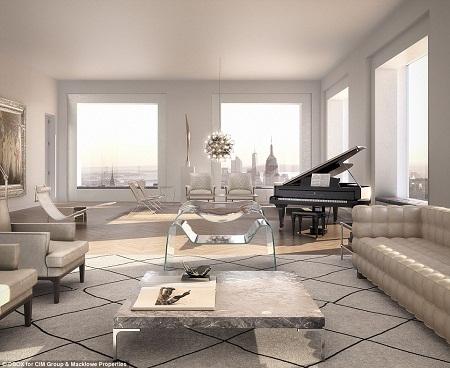 Tòa nhà 432 Park Avenue là tòa nhà chung cư cao cấp cao nhất khu vực Tây Bán cầu. Được thiết kế bởi kiến trúc sư Rafael Vinoly, tòa nhà 96 tầng có tổng cộng 104 căn hộ, với mức giá dao động từ khoảng 17 triệu đô la tới 95 triệu đô la (tương đương từ 360 tỉ đồng đến 2 nghìn tỉ đồng).