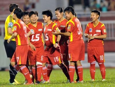 Niềm vui chiến thắng của CLB TPHCM