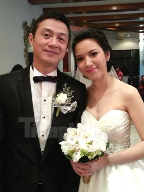 Đám cưới của MC Anh Tuấn với người đẹp Lý Hồng Nhung