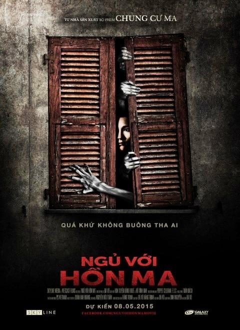 Ngủ với hồn ma là bộ phim Việt Nam đầu tiên có ma thật sự.