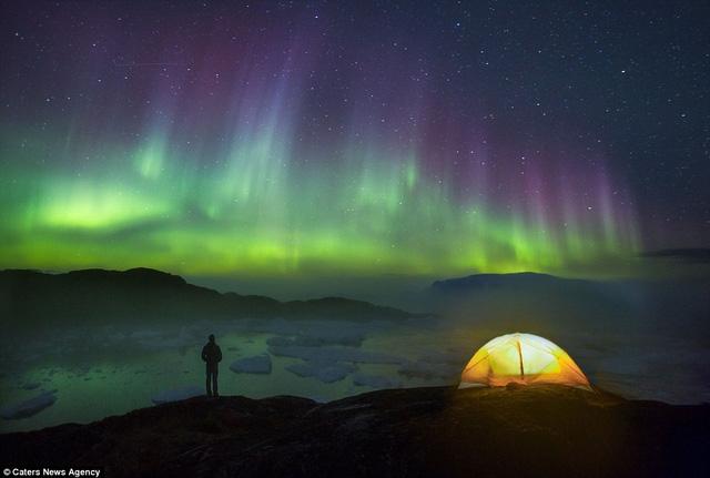 Vẻ đẹp ngoạn mục của Bắc Cực quang
