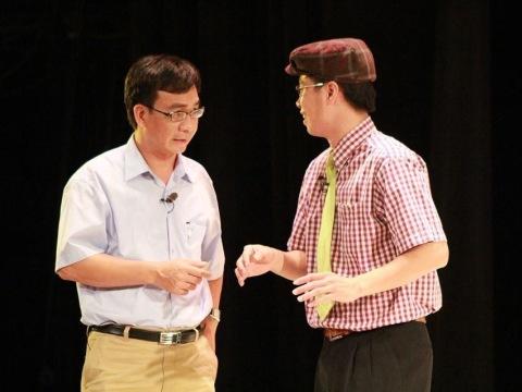 Đức Khuê trong vở kịch của Lưu Quang Vũ Mùa Hạ cuối cùng