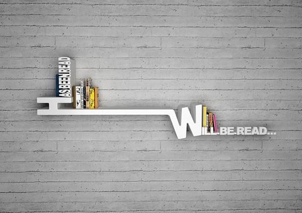 Với giá sách này, bạn sẽ biết những quyển sách nào bạn đã đọc và chưa từng đọc