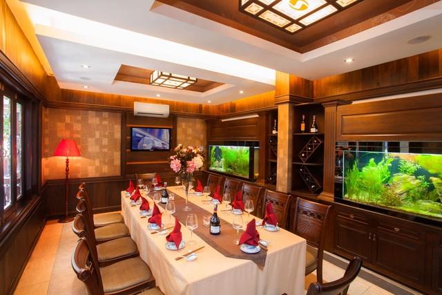 Các phòng VIP của Sesan được chăm chút từ góc nhỏ, tinh xảo từng đường nét và cách bố trí nội thất sang trọng (Ảnh: Trí Thức Trẻ)