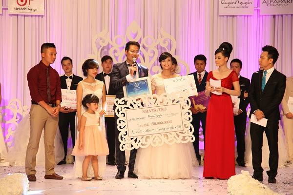 Vượt qua các cặp thí sinh khác, cặp đôi Trình Thảo Nguyên và Đỗ Mạnh Cường đã xuất sắc giành giải thưởng cao nhất (Ảnh: Trí Thức Trẻ)