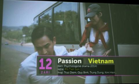 Hình ảnh giới thiệu bộ phim Đam mê của đạo diễn Phi Tiến Sơn tại LHP.