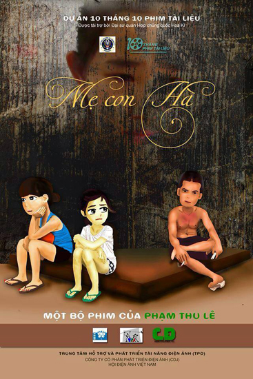 Poster phim Mẹ con Hà.