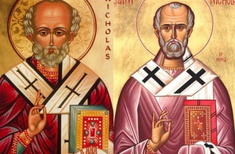 Nhiều người vẫn cho rằng ông già Noel được tạo dựng dựa theo chân dung Thánh Nicholas thành Myra
