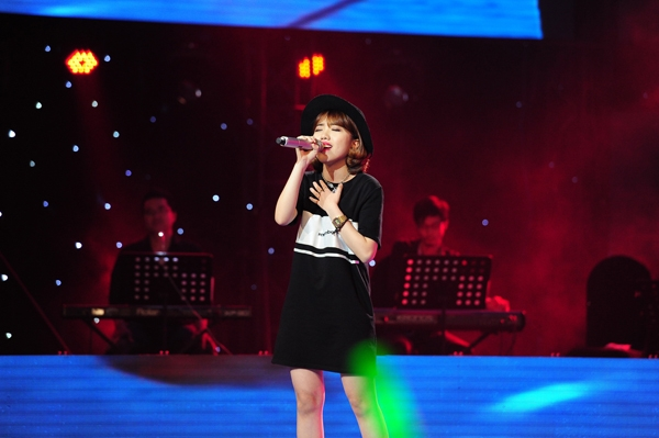 Khánh Linh - Thí sinh của đội Thu Phương
