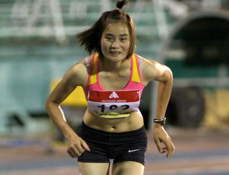 Quách Thị Lan là cái tên đáng chú ý trong môn thể thao nữ hoàng