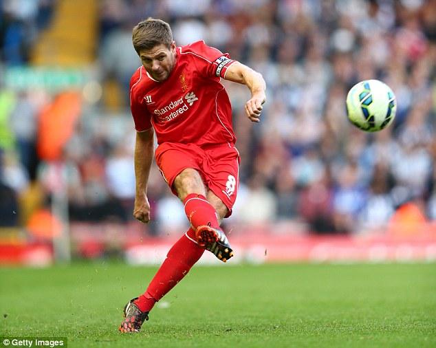 Lão tướng Gerrard vẫn phải gánh vác trọng trách ghi bàn tại Liverpool
