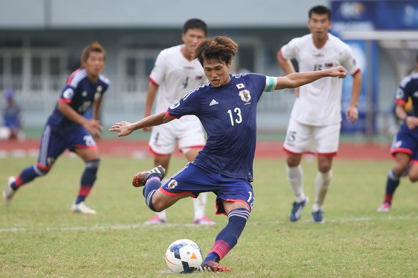 Minamino Takumi từng nhiều lần đối mặt và ghi bàn vào lưới U19 Việt Nam - Ảnh: AFP