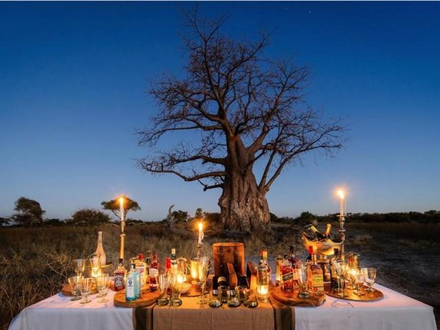 Năm 2013, trang du lịch Travel & Leisure bầu chọn khách sạn Mombo Camp and Little Mombo Camp ở Botswana là khách sạn tốt nhất thế giới. Tại đây, du khách sẽ được ăn tối xa xỉ giữa thiên nhiên hoang dã hoặc thư giãn ngay trước mắt sư tử hay ngựa vằn.