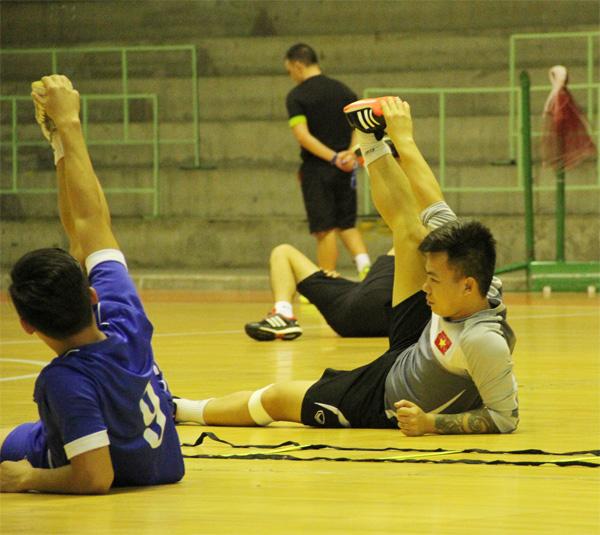 Các cầu thủ đã sẵn sàng bước vào trận bán kết gặp chủ nhà Thái Lan