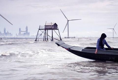 Cảnh trong phim Nước của Nguyễn Võ Nghiêm Minh.